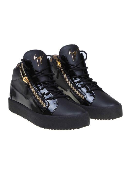 Giuseppe Zanotti Kriss Sneakers In Black Leather