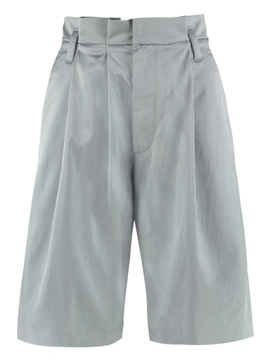Brunello Cucinelli High-waist Wide-leg Shorts