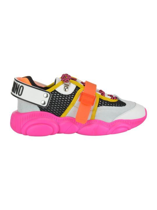 Moschino Teddy Fluo Sneakers