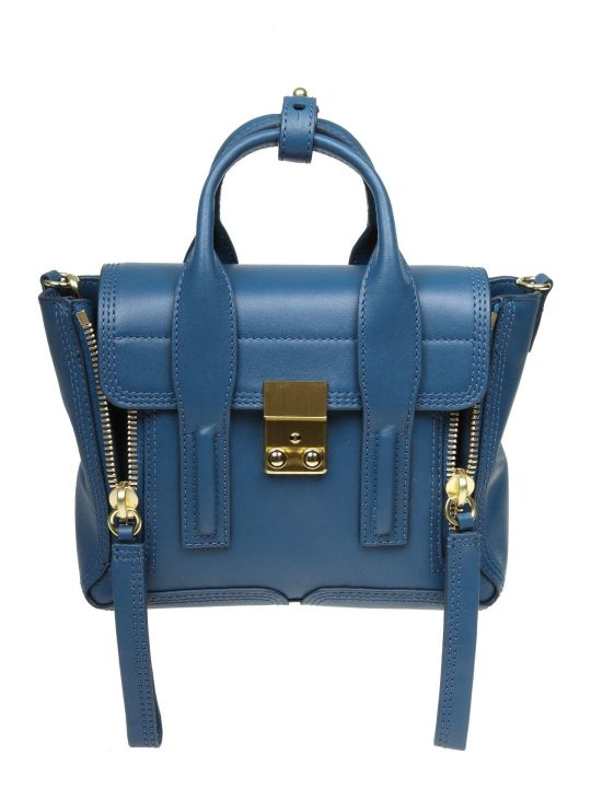 3.1 Phillip Lim Phillip Lim Pashli Mini Handbag In Blue Leather