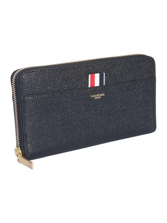 Thom Browne Long Wallet With Zip