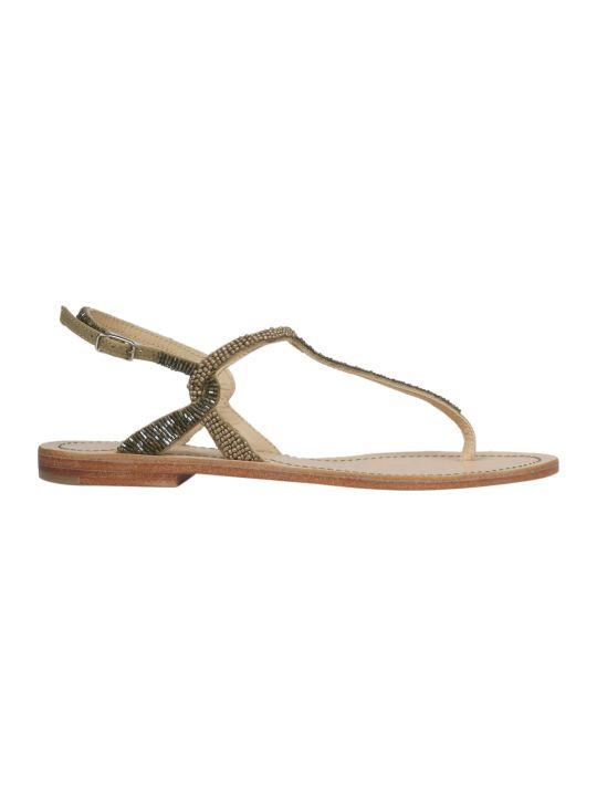 Malìparmi Maliparmi Embellished Flat Sandals