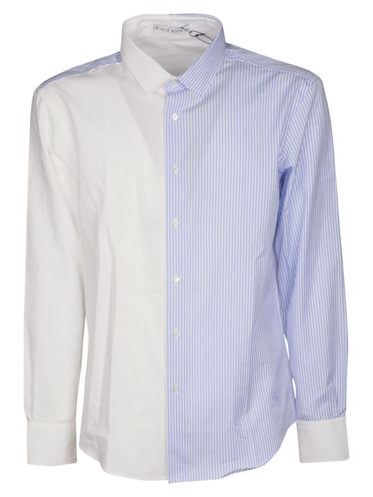 J.W. Anderson Jw Anderson Panelled Striped Shirt