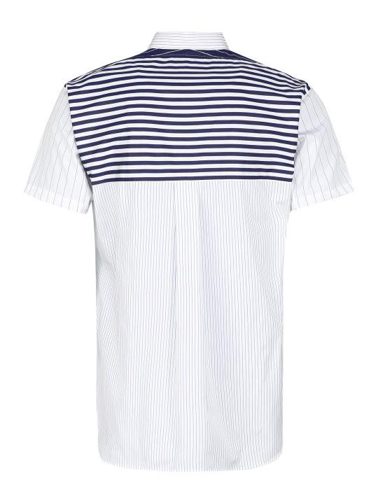Comme des Garçons Shirt Short Sleeve Cotton Shirt