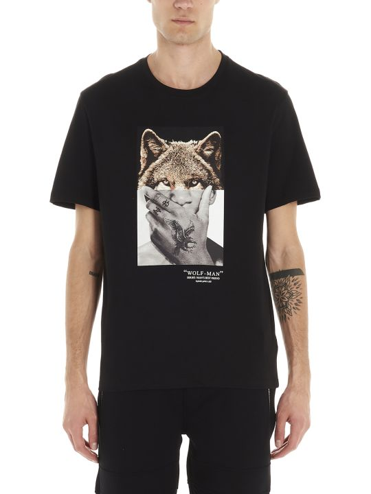 Neil Barrett 'wolf Man' T-shirt
