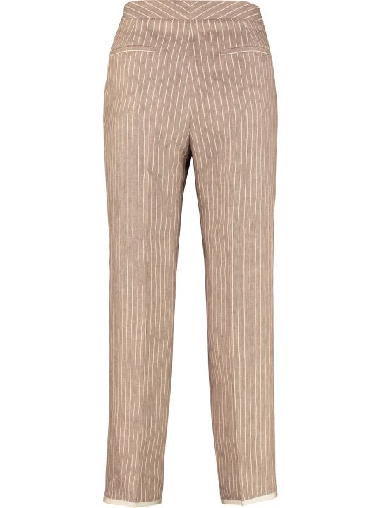 Fabiana Filippi Linen And Cotton Trousers