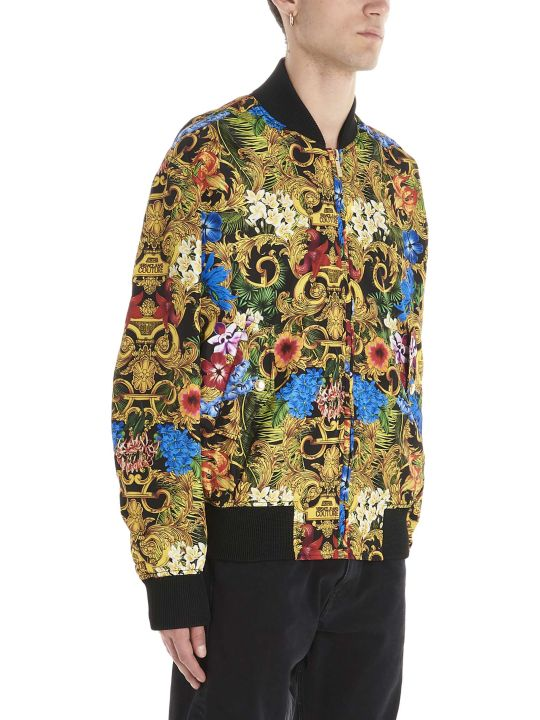 Versace Jeans Couture 'tropical Baroque' Bomber