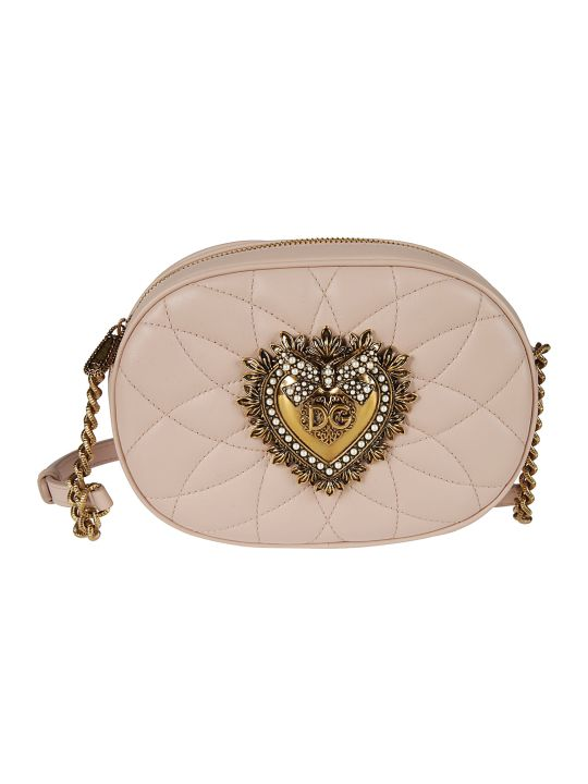 Dolce & Gabbana Heart Casual Style Chain Shoulder Bag