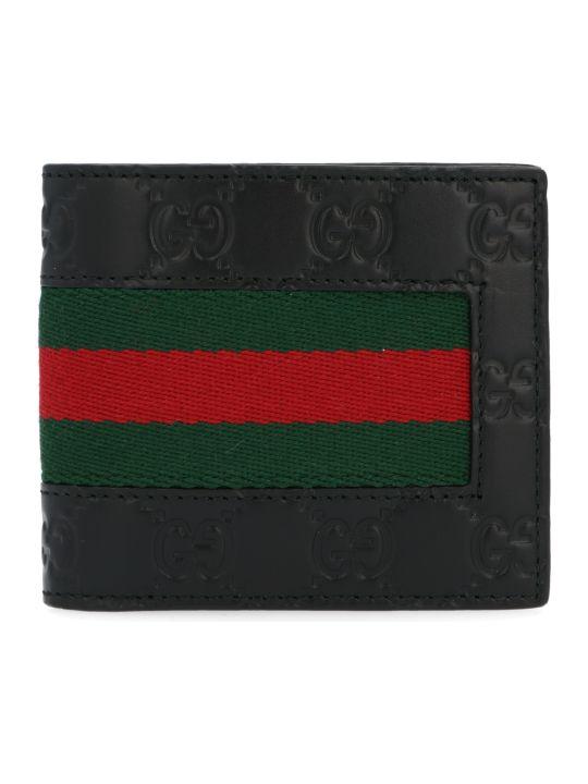 Gucci 'new Web' Wallet