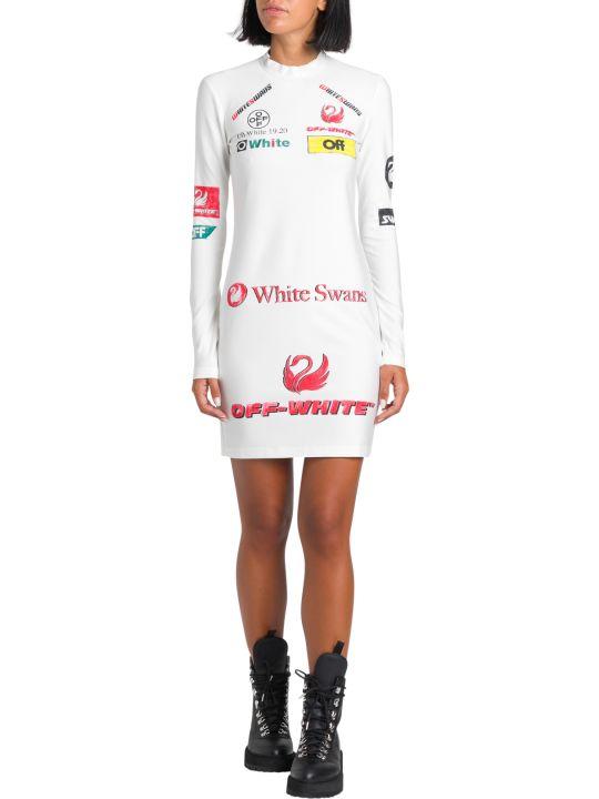 Off-White Logo-print Mini Dress