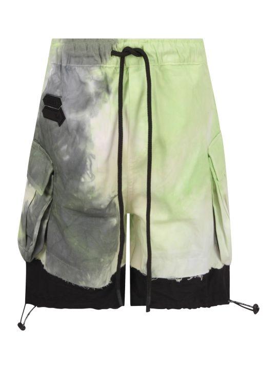 Cinzia Araia Multicolor Boy Short With Logo