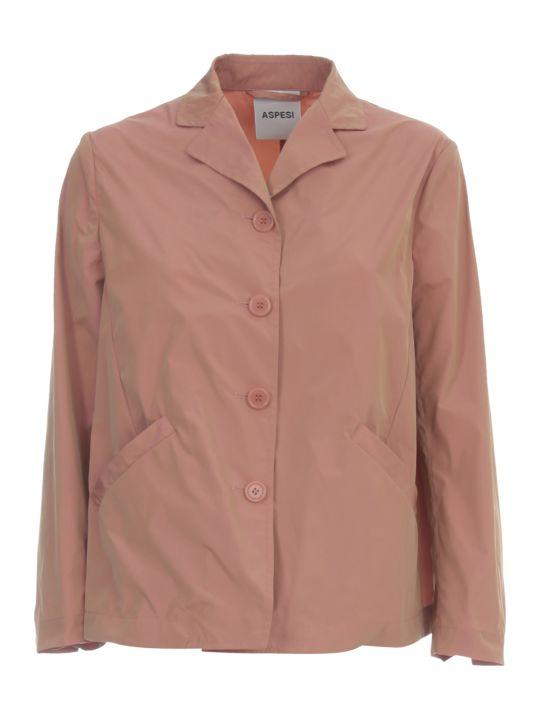 Aspesi Mela Cotogna Jacket W/slit Behind