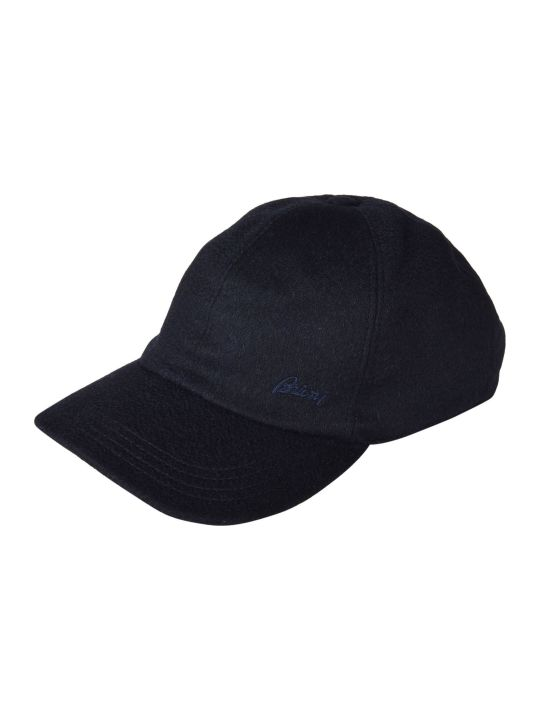 Brioni Embroidered Logo Cap