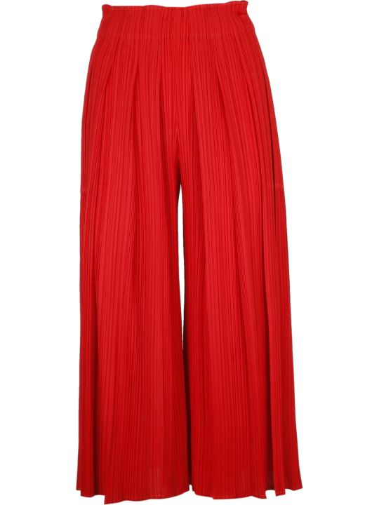 Pleats Please Issey Miyake Pleats Please By Issey Miyake Pleated Culottes