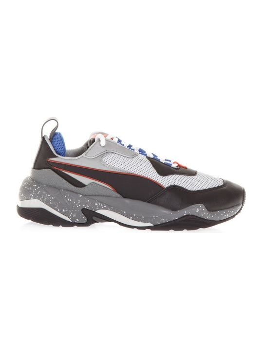 Puma Select Black Thunder Sneaker In Leather & Polyamide