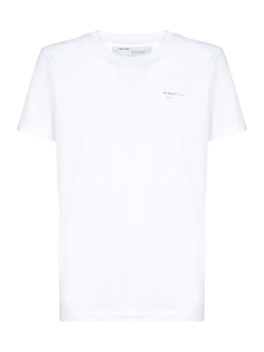 Off-White Short Sleeve T-Shirt