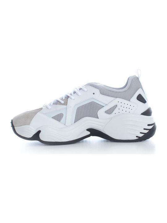 Emporio Armani Sneakers Cow Suede Rubber Polyurethane