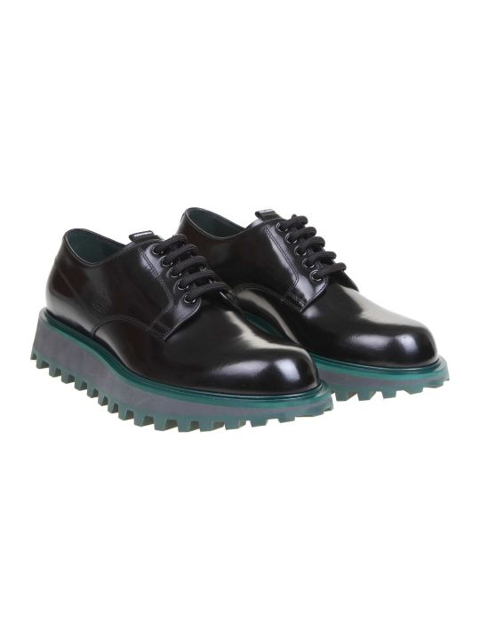 Dolce & Gabbana Derby In Black Calfskin