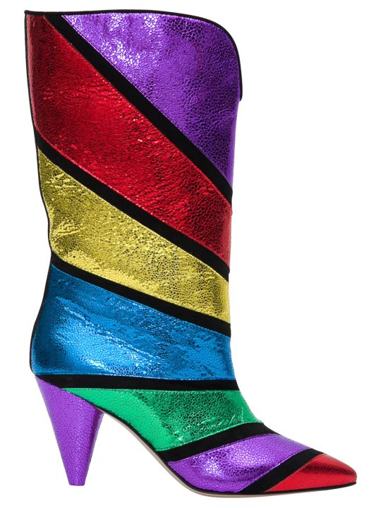 The Attico Betta Multicoloured Boots