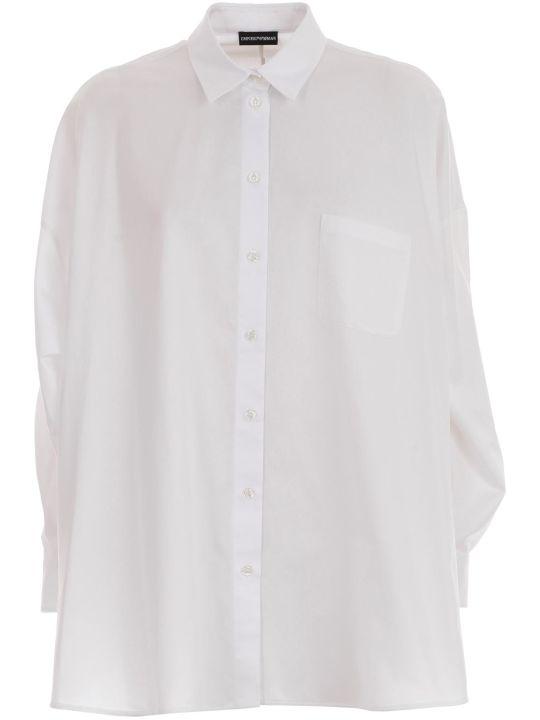 Emporio Armani Shirt L/s Over Twill
