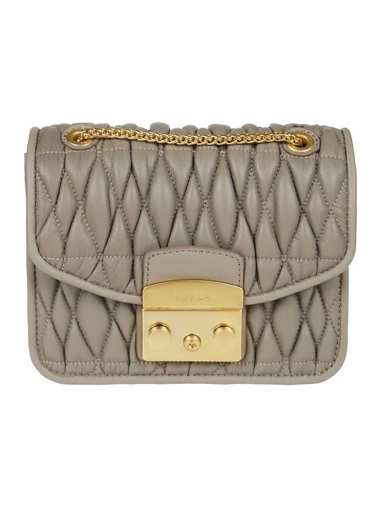 Furla Metropolis Quilted Shoulder Bag