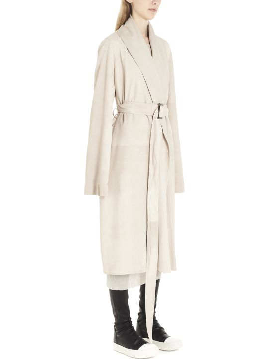 Rick Owens 'mountain Coat' Trench