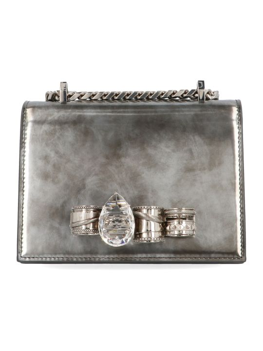 Alexander McQueen 'jewelled Satchel' Bag