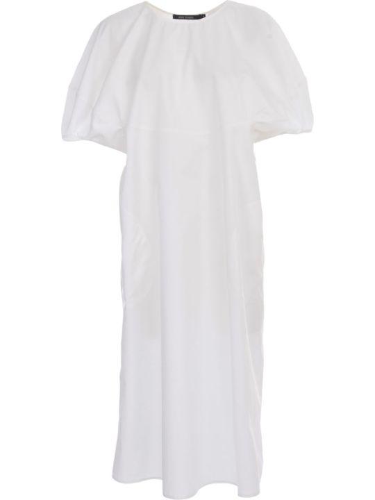 Sofie d'Hoore Crew Neck Dress Round Volume Sleeves