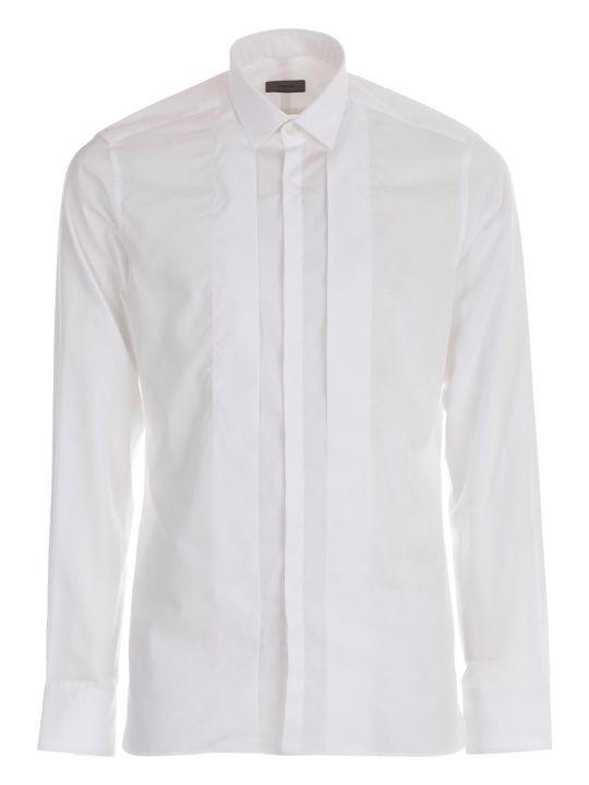 Lanvin Shirt Slimfit Folded Plastron
