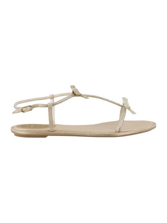 René Caovilla Caterina Flat Sandals