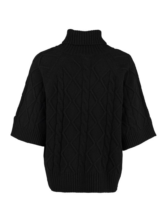 Max Mara Studio Sandalo Wool And Cashmere Sweater