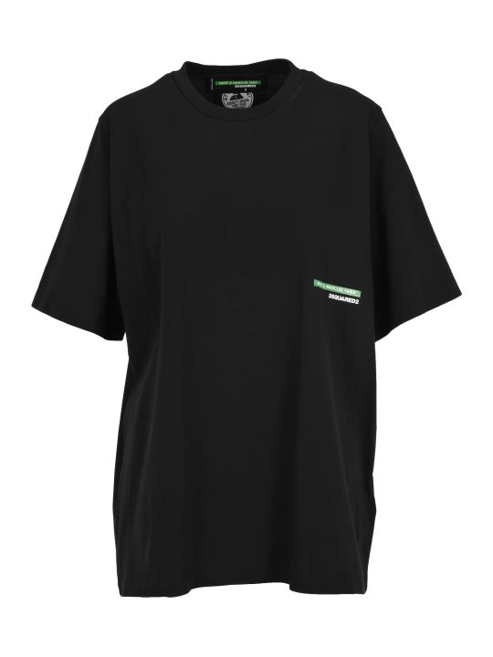 Dsquared2 D Squared Tshirt Oversized Boy Kiss