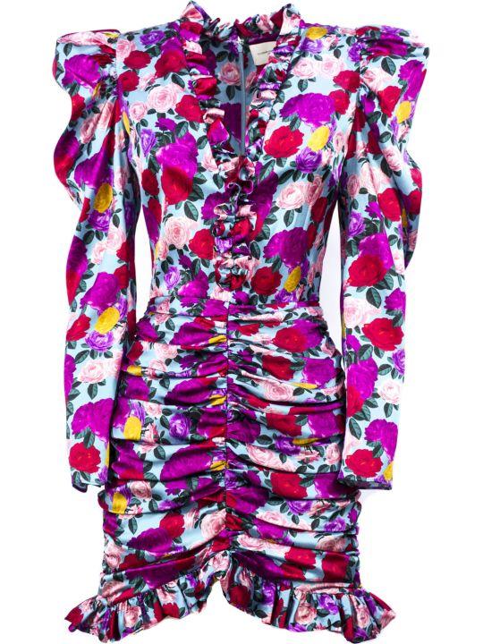Giuseppe di Morabito Multicolored Silk Blend Dress