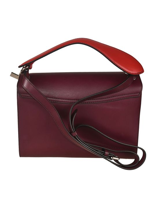 Lancel Envelope Style Shoulder Bag