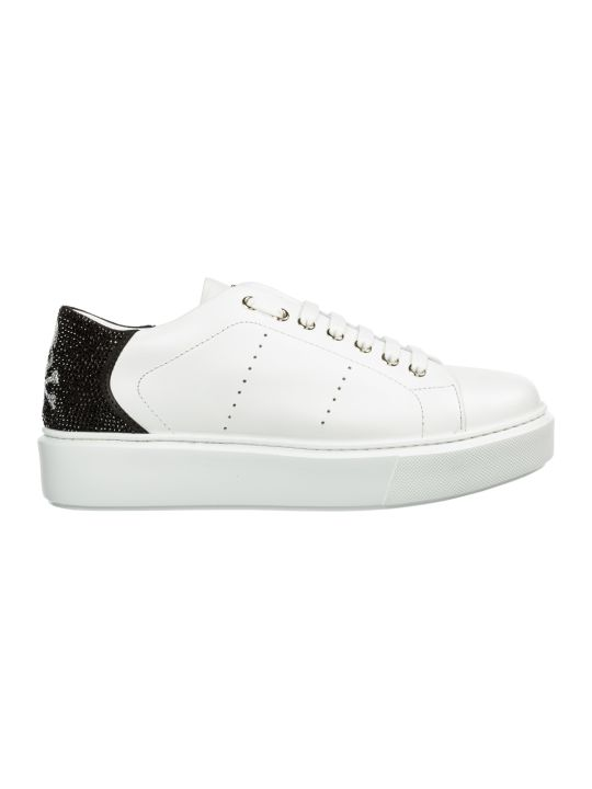 Philipp Plein  Shoes Leather Trainers Sneakers Skull