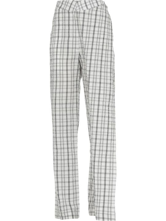 AALTO Check Patterned Trousers