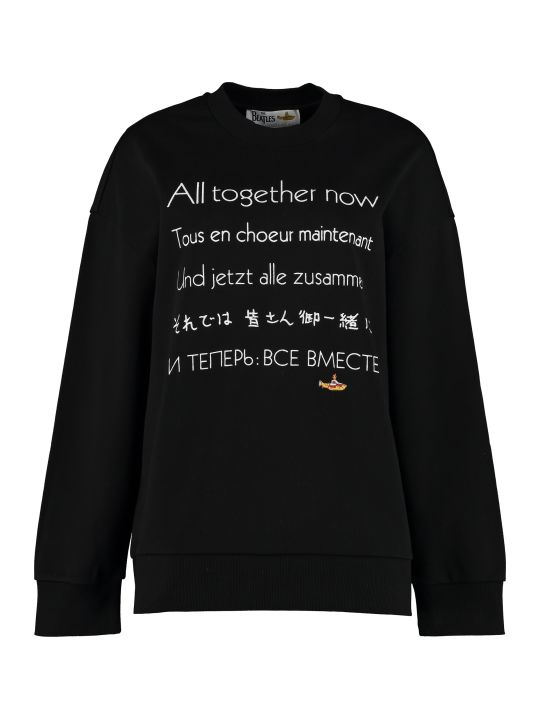 Stella McCartney 'all Together Now' Cotton Crew-neck Sweatshirt