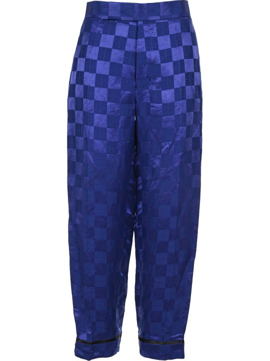 Haider Ackermann Geometric Print Wide-leg Trousers