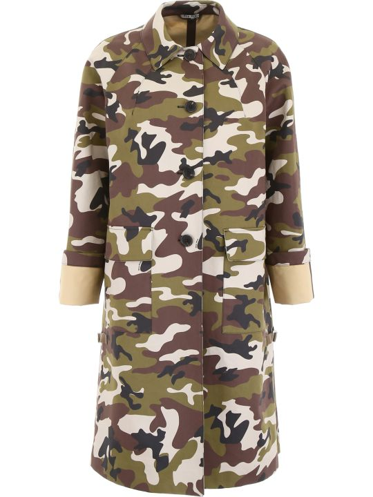 Miu Miu Camouflage Coat