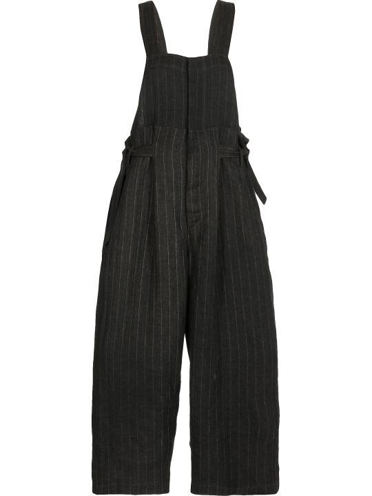 Uma Wang Pinstriped Overalls