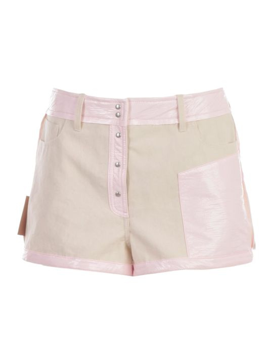Courrèges Buttoned Shorts