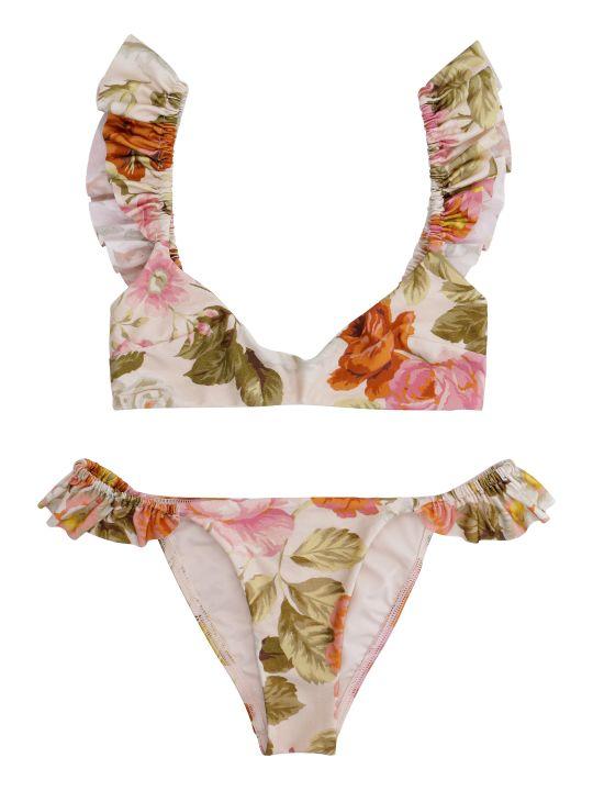 Zimmermann Bonita Printed Bikini