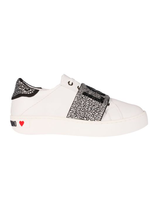 Love Moschino Embellished Sneakers