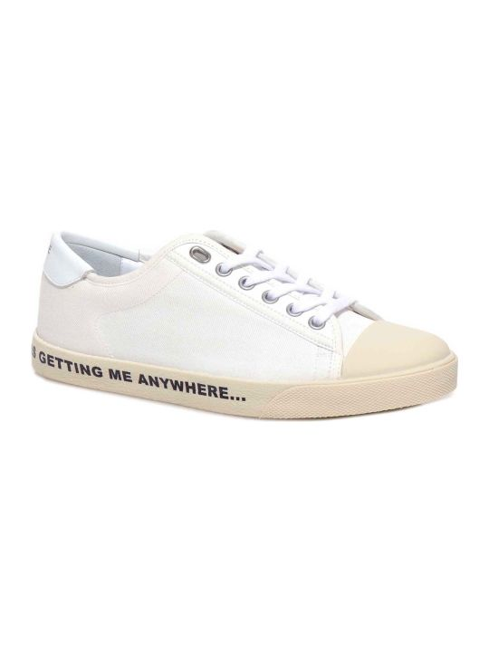 Celine Celine Blank Canvas Sneakers