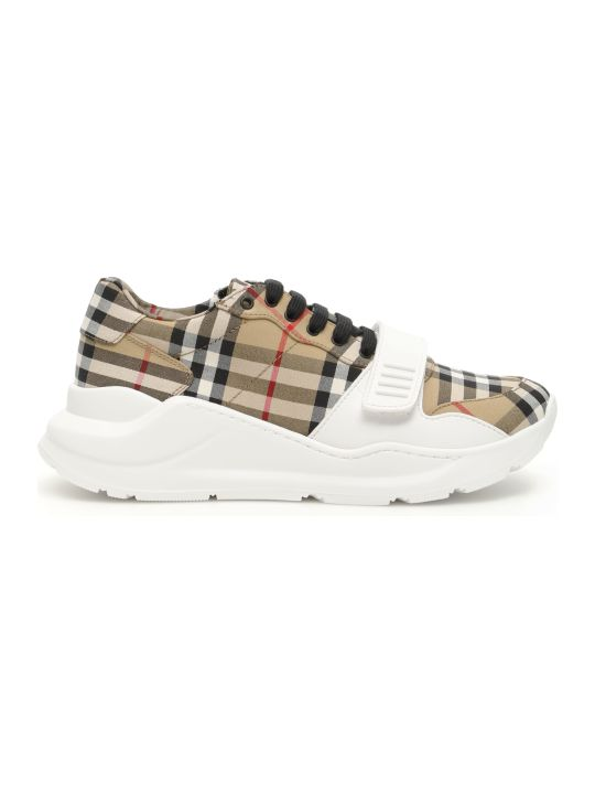 Burberry Vintage Check Regis Sneakers