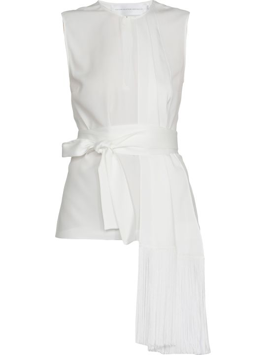 Victoria Victoria Beckham Top With Fringes