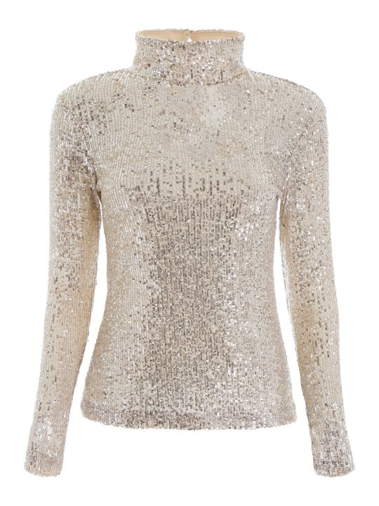 L'Autre Chose Sequins Top