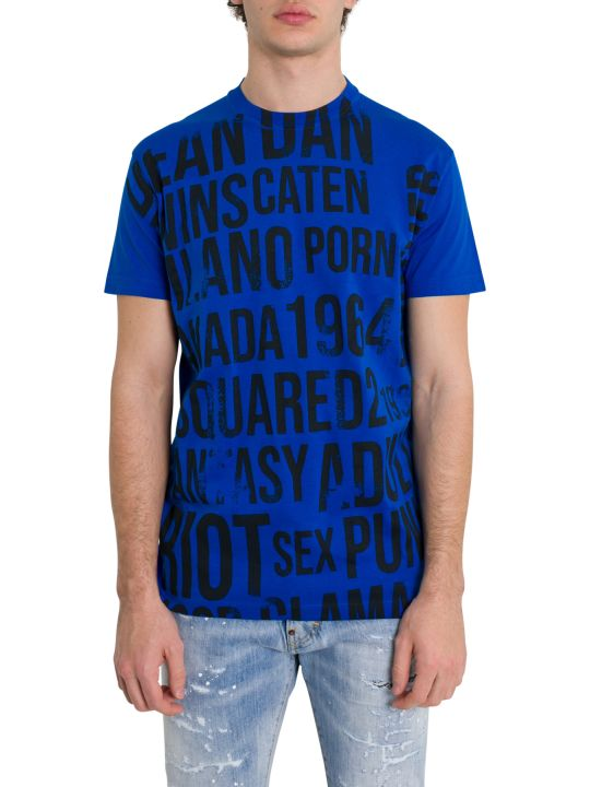 Dsquared2 Lettering Print Tee