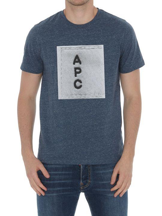 A.P.C. Logo H T-shirt