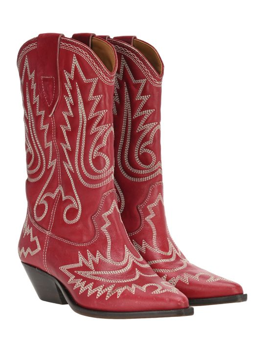 Isabel Marant Duerto Texan Ankle Boots